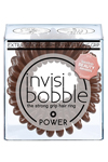 Invisibobble POWER Pretzel Brown - Invisibobble POWER Pretzel Brown резинка для волос коричневая, 3 шт